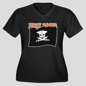 Jolly Roger Plus Size T-Shirt