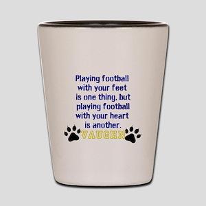 Football Personalized Shot Glass