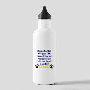 Football Personalized Water Bottle