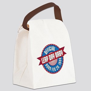Leap Day Baby Canvas Lunch Bag