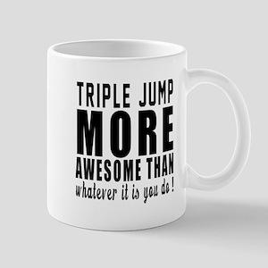 Triple jump More Awesome Designs Mug