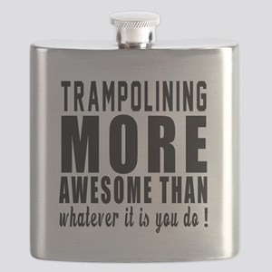 Trampolining More Awesome Designs Flask
