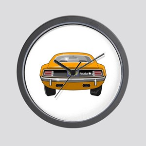 1970 Barracuda Wall Clock
