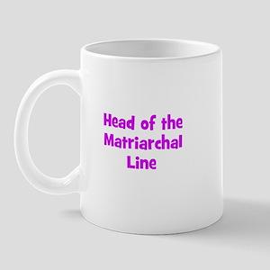 Head of the Matriarchal Line Mug