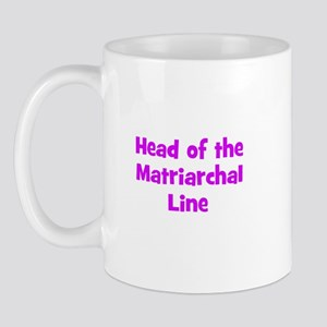 Head of the Matriarchal Line Mug