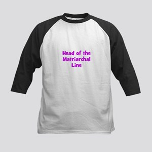 Head of the Matriarchal Line Kids Baseball Jersey