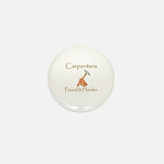 Funny Carpenter Mini Button