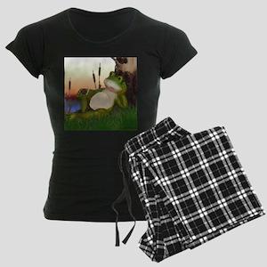 The Frog and Snail Women's Dark Pajamas