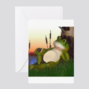 The Frog and Snail Greeting Cards