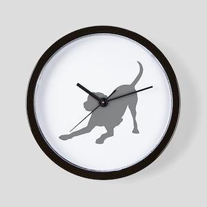Lab 1C Gray Wall Clock