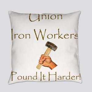 Iron Workers Humor Everyday Pillow