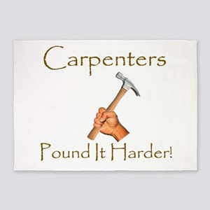 Carpenter Humor 5'x7'Area Rug