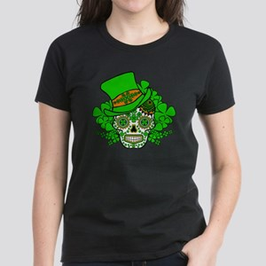 St.Patricks Day Skull 3 T-Shirt