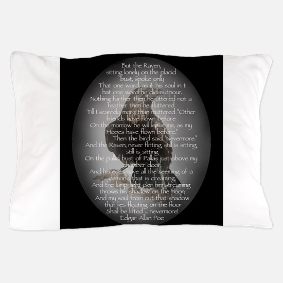 Edgar Allan Poe The Raven Poem Pillow Case