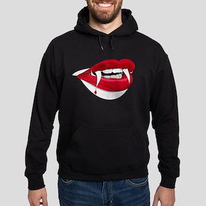 Halloween Vampire Teeth Hoodie (dark)