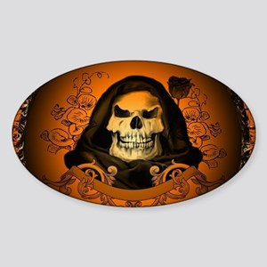 Awesome skull Sticker
