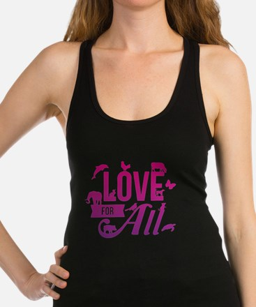 Love for All Racerback Tank Top