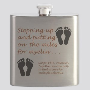 Miles for Myelin Flask