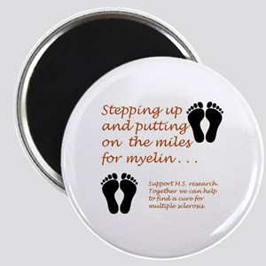 Miles for Myelin Magnets