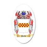 Pardy 20x12 Oval Wall Decal