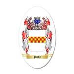 Pardy 35x21 Oval Wall Decal
