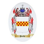 Pardy Oval Ornament