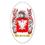 Pardo Sticker (Oval 10 pk)