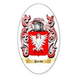 Pardo Sticker (Oval 50 pk)