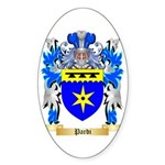 Pardi Sticker (Oval 50 pk)