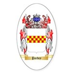 Pardey Sticker (Oval 50 pk)