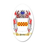 Pardey 35x21 Oval Wall Decal
