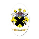 Parcell Oval Car Magnet