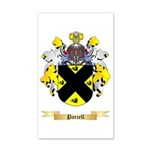 Parcell 35x21 Wall Decal