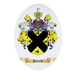 Parcell Oval Ornament