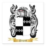 Paquot Square Car Magnet 3