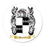 Paquot Round Car Magnet