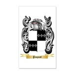 Paquot 20x12 Wall Decal