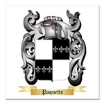 Paquette Square Car Magnet 3