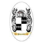 Paquette Sticker (Oval 10 pk)