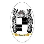 Paquette Sticker (Oval 50 pk)
