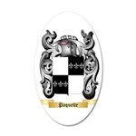 Paquette 35x21 Oval Wall Decal