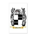 Paquette 20x12 Wall Decal