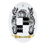 Paquette Oval Ornament