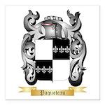 Paqueteau Square Car Magnet 3