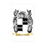 Paqueteau Sticker (Rectangle 50 pk)