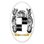 Paqueteau Sticker (Oval 50 pk)