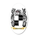 Paqueteau 35x21 Oval Wall Decal