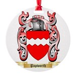Papworth Round Ornament
