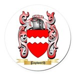 Papworth Round Car Magnet