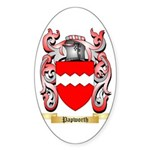 Papworth Sticker (Oval 50 pk)